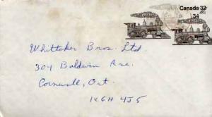 Canada, Trains, Postal Stationery