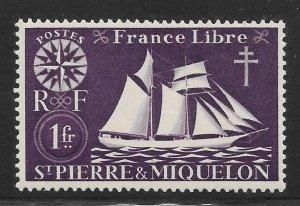 Saint Pierre and Miquelon Mint Never Hinged [4149]