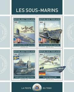 Z08 TG190120a TOGO 2019 Submarines MNH ** Postfrisch