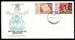 British Antarctic Territory 69 - 70 Westminster FDC