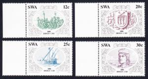 SWA Discoveries 2nd issue 4v with margins SG#455-458 SC#552-555
