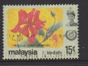 Kedah Sc#124 Used