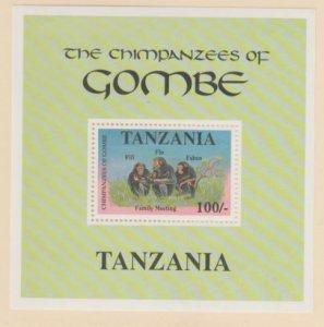 Tanzania Scott #877 Stamps - Mint NH Souvenir Sheet