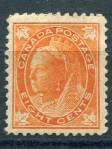 Canada #72  Mint  VF  LSP72d