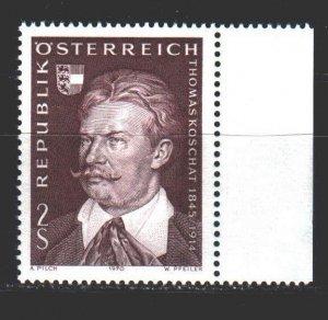 Austria. 1970. 1336. Kossuth, composer. MNH.