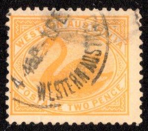 Western Australia Scott 91 Used.