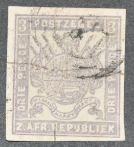 DYNAMITE Stamps: Transvaal Scott #25  – USED