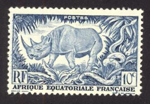 French Equitorial Africa 166 MNH