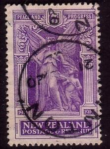 NEW ZEALAND 1920 Victory 6d fine used. ACS cat $50.........................33168