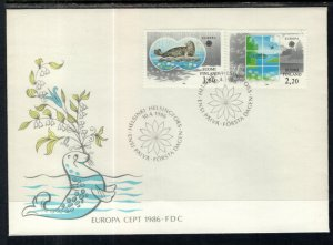 Finland 735-736 Europa U/A FDC