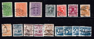 AUSTRIA STAMP USED STAMPS COLLECTION LOT  #3