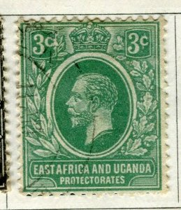BRITISH KUT; 1921 early GV issue fine used 3c. value