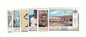 Qatar, 134-39, World Health Org. (WHO) Singles, MNH