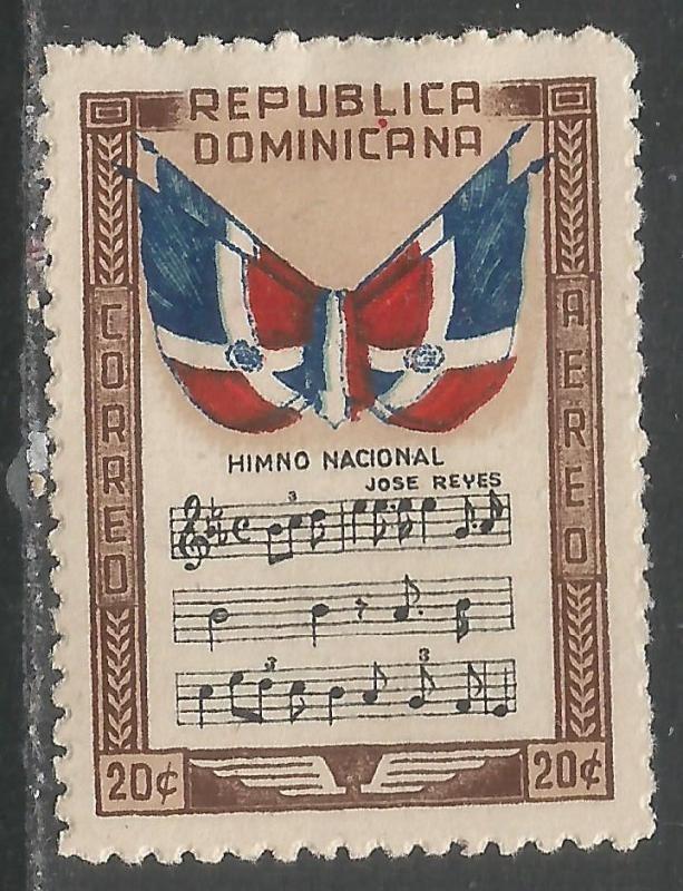 DOMINICAN REPUBLIC C59 MOG FLAGS 216B