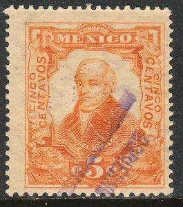 MEXICO-Monterrey 427VAR TII, 5¢ GOB. REV PROV OVPT CONSTIT.. UNUSED VF (1022)