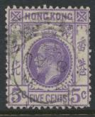 Hong Kong  SG 121 Used   George V 1931 issue   see details
