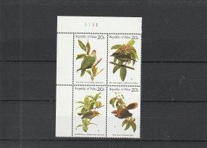 Palau  Scott#  8a  MNH Block of 4  (1983 Birds)