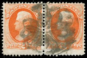 momen: US Stamps #178 Used Weiss GE-EP4 NYFM Cancel