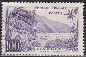 France 909 Hinged Used 1959 Sens River, Guadeloupe