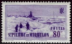 St. Pierre & Miquelon Sc #189 MNH VF...French Colonies are Hot!