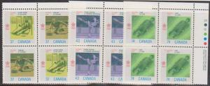 Canada USC #1196a to 1198 Mint VF-NH 1988 Olympic Winter Games