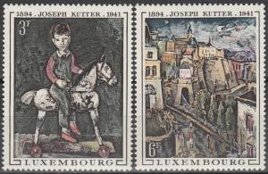 Luxembourg #477-8  MNH