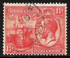 Trinidad & Tobago 1922 Scott# 23 Used (pin hole)