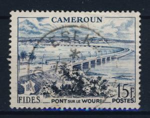 CAMEROUN - CAD  ESEKA / CAMEROUN  sur N°301 15fr F.I.D.E.S. (1956)