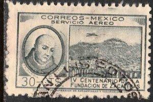 MEXICO C163, 30¢ 400th Anniversary of Zacatecas. Used. F-VF. (882)