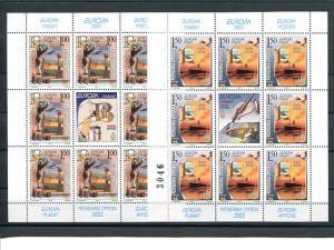 Bosnia/Serbia 2003   Europa sheets  VF NH - Lakeshore Philatelics