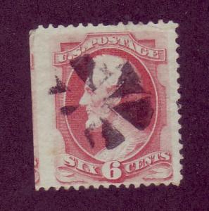 148 Used,  6c. Lincoln,  Lg. Banknote,  scv: $25