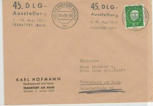 German Postal History Stamps Cover Ref: R4698