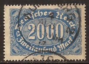 Germany  #  205  used