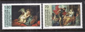 Liechtenstein 1176-1177 Paintings MNH VF