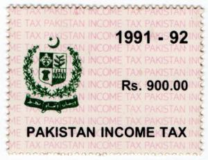 (I.B) Pakistan Revenue : Income Tax 900R
