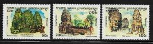 Cambodia 2104-6 Buddha Mint NH