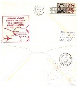 United States, New York, First Flight, Cameroun