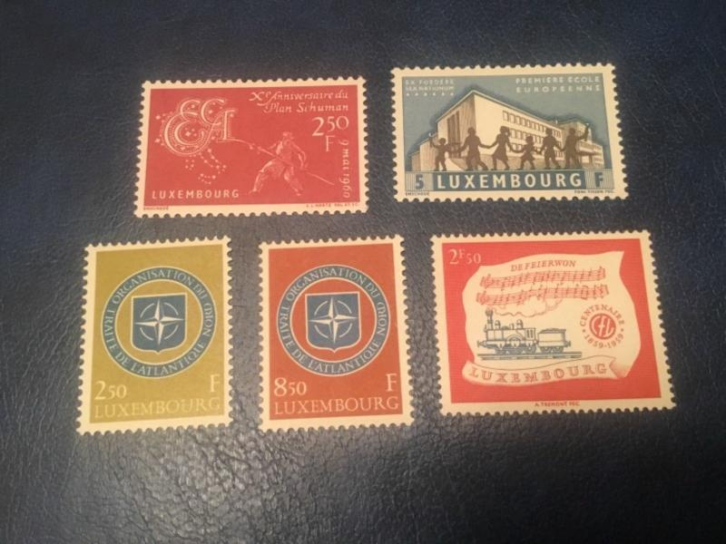 ICOLLECTZONE Luxembourg #349//60 VF NH (Bk1-32)