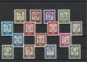 Berlin 1961 Famous Germans Mint Never Hinged Stamps Ref 24522