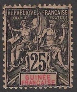French Guinea #10 Used 20% of SCV $8.00    **FREE Domestic SHIPPING**