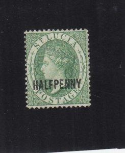 St. Lucia: Sc #19, MH (35825)