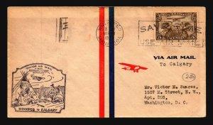 Canada 1930 FFC Winnipeg to Calgary - L2066