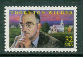 3134 32c Wilder Fine MNH Plt/4 LR P2222 F09237