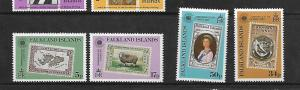 FALKLAND ISLANDS, 371-374, MNH, COMMONWEALTH DAY