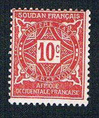 French Sudan J12 MLH Numeral (BP09320)