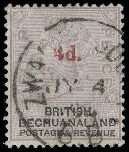 Bechuanaland Scott 26 Gibbons 25 Used Stamp