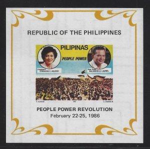 1799a Aquino/Laurel/Parade (Wmk 389) CV$5