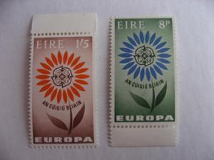 IRELAND SC 196-7 MNH 1964 Europa issue, nice!