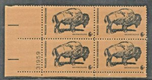 USA  SC# 1392 MNH PB OF 4  6c 1970  WILDLIFE CONSERVATION SEE SCAN