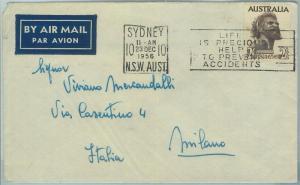 67343 - AUSTRALIA - Postal History -   COVER to ITALY  1956